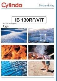 bruksanvisning ib 130 - Cylinda