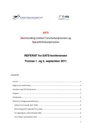SATS konferansen 01