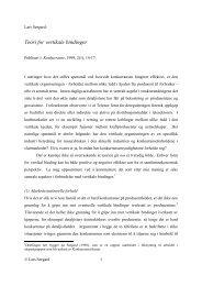 Teori for vertikale bindinger - Fagbokforlaget