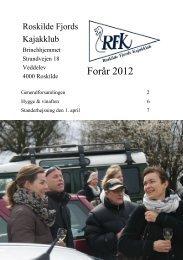 Forår 2012 - Roskilde Kajakklub