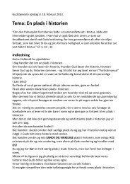 Læs talen - København Vineyard