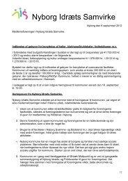 Bestyrelsesmøde tirsdag den 13 august 1996. kl. 18.00. i Nyborg ...