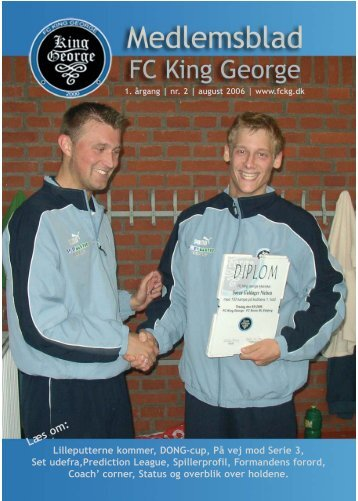 August 2006 - FC King George