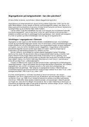 Læs artiklen - Statens Byggeforskningsinstitut