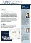 Pobierz broszurę - Szkoła Biznesu Politechniki Warszawskiej - Page 5