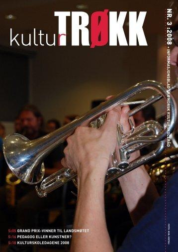 Kulturtrøkk nr. 3 - Norsk kulturskoleråd