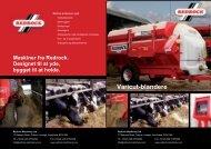 Brochure for padleblandere - Redrock Machinery