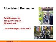 Albertslund Kommunes - Masterplan Syd