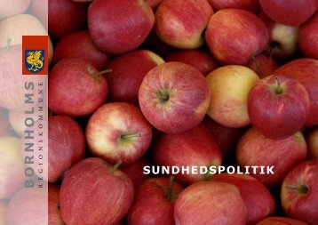 SUNDHEDSPOLITIK - Bornholms Regionskommune