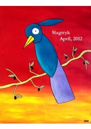 April, 2012 - Slagtryk