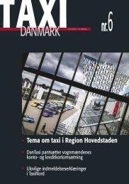 Tema om taxi i Region Hovedstaden - TaxiDanmark