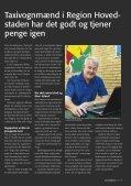 Tema om taxi i Region Hovedstaden - TaxiDanmark - Page 7