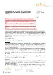 Spørgsmål og svar i forbindelse med udbudet af ... - Energistyrelsen