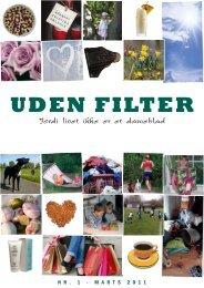 Download PDF af UDEN FILTER NR. 1 – 2011 – Et nyt E-magasin
