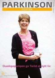 Last ned nr 2, 2007 - Norges Parkinsonforbund