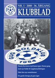 NR. 1 · 2008 · 36. ÅRGANG - Gug Boldklub