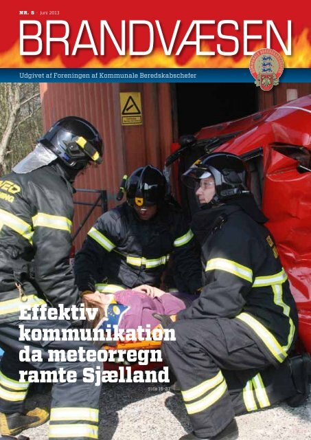 Eektiv kommunikation da meteorregn ramte Sjælland