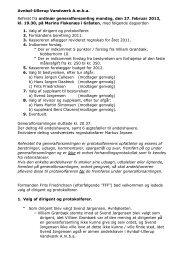 2012 02 27 Referat fra Generalforsamling - Avnbøl Ullerup Vandværk