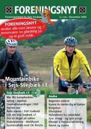 Foreningsnyt nr. 10/2009 - Sejs Svejbæk Idrætsforening
