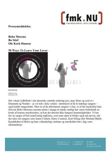 Download pressemeddelelse (pdf) - FMK