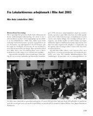 Fra Lokalarkivernes arbejdsmark i Ribe Amt 2003 - Ribe Amts ...