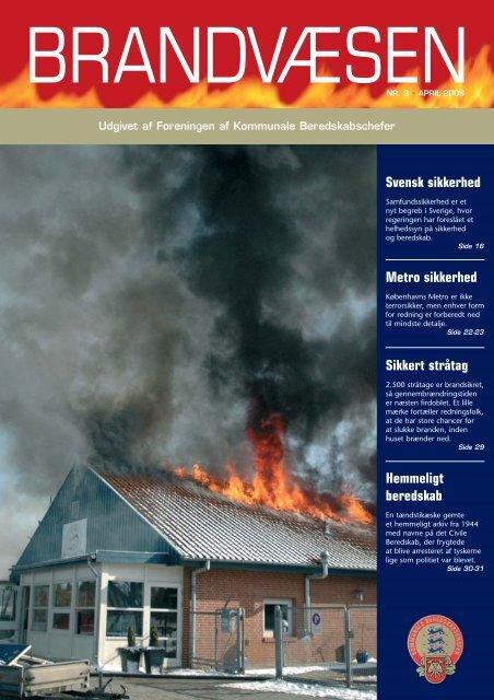 brandvæsen april - Foreningen af Kommunale Beredskabschefer