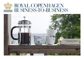 BUSINESS-TO-BUSINESS ROYAL COPENhAgEN - Nordic Urban
