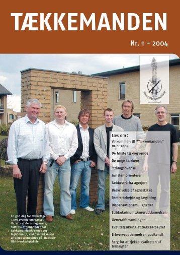 Tækkemanden 1/2004 - Dansk Tækkemandslaug