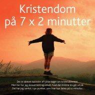 Kristendom på 7 x 2 minutter - Luthersk Mission