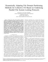 Dynamically Adapting File Domain Partitioning Methods for ...