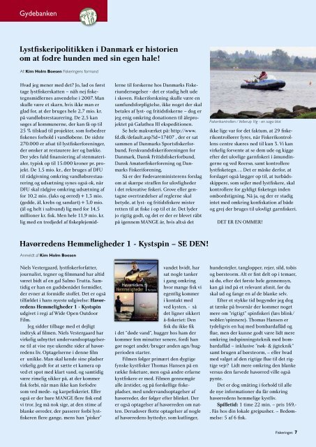 Havørredens Hemmeligheder 1 - Kystspin – SE DEN! - Fiskeringen