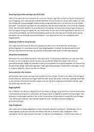 Bestyrelsens skriftlige beretning 2011-2012 - ab-vesterparken.dk