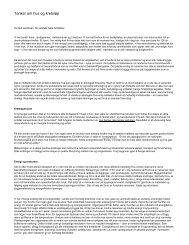 Tanker om hus og kretsløp - GAIA agenda