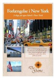 Forlængelse i New York - DaGama Travel