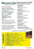 Missions-Nyt nr. 4 - 2011 med billeder - Missionsfonden - Page 2