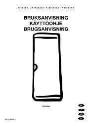 bruksanvisning käyttöohje brugsanvisning - Electrolux-ui.com