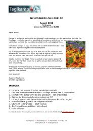Nyhedsbrev - august 2012 - Teglkamp & Co