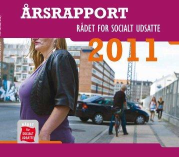 ÅRSRAPPORT - Rådet for Socialt Udsatte