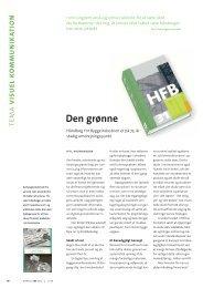 Den grønne - HFB