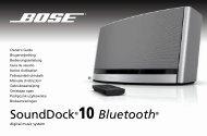 SoundDock®10 Bluetooth® - Bose
