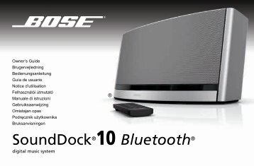 SoundDock®10 Bluetooth® - Bose