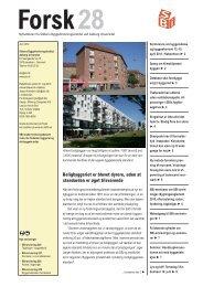 Forsk28 - Statens Byggeforskningsinstitut