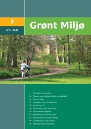3 - Grønt Miljø