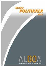 Diverse politikker - Alboa