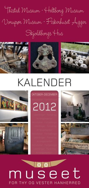 KALENDER 2012 - Thisted Museum