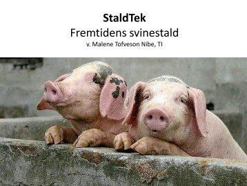 StaldTek - Fremtidens svinestald 2013-2020 - Teknologisk Institut