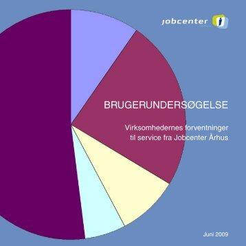 BRUGERUNDERSØGELSE - Jobcenter Aarhus