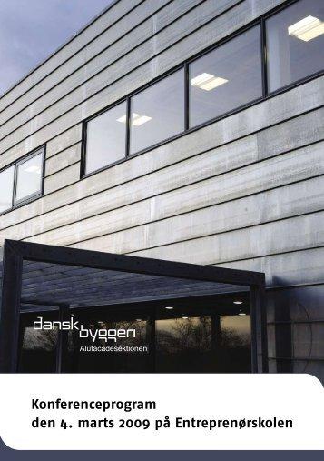 Se en pdf af programmet - Danskbyggeridesign.dk
