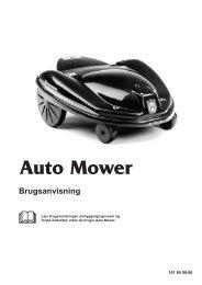 OM, Automower, Auto Mower, 1999-01 - Husqvarna