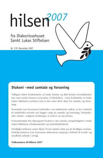 Hilsen -2007 - Sankt Lukas Stiftelsen